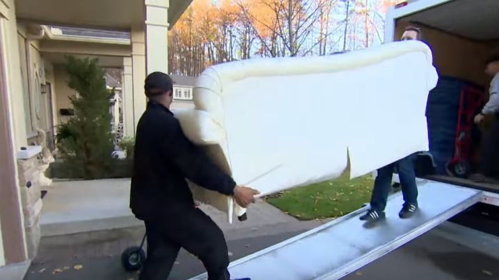 image of moving company at work